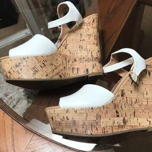 Shoes - Brash White Wedges